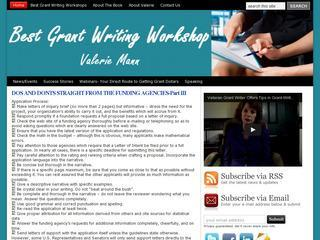 Best Grant Writing Workshop